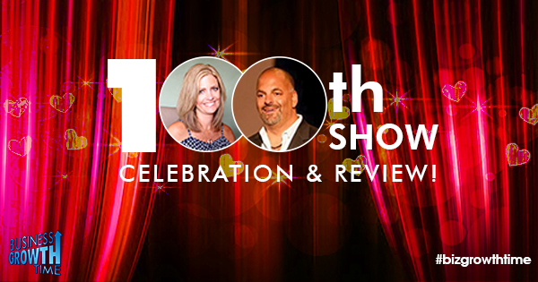 Episode 100 – Business Growth Time 100th Show Celebration and Review!