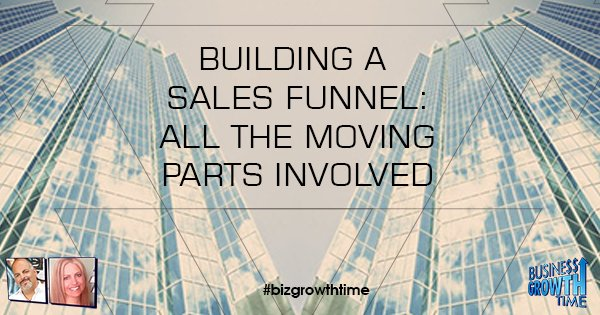 Episode 91 – Building a Sales Funnel – All the moving parts involved