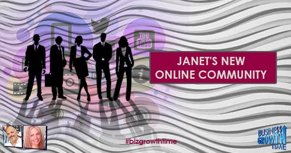 Episode 98 – Janet E Johnson Social Strategies 101 Community